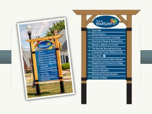 Town of Warsaw Directional Sign